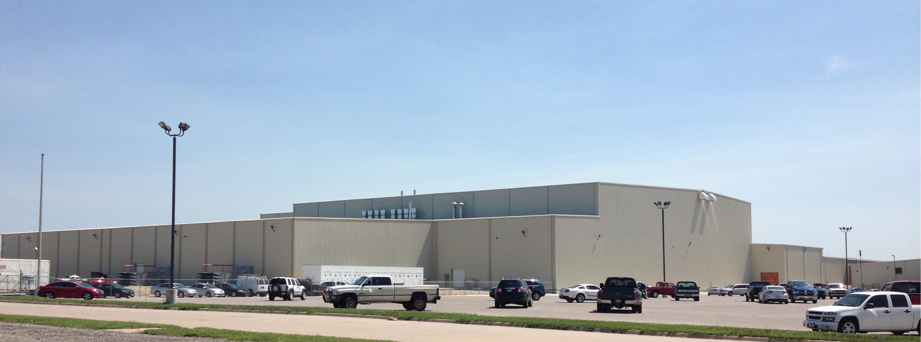 AGCO's new state-of-the-art paint facility, opened July 2013. As the county's largest manufacturer and one of the region's largest employers, they provide jobs to over 1480 individuals.