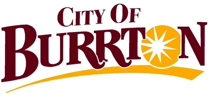 Burrton city logo
