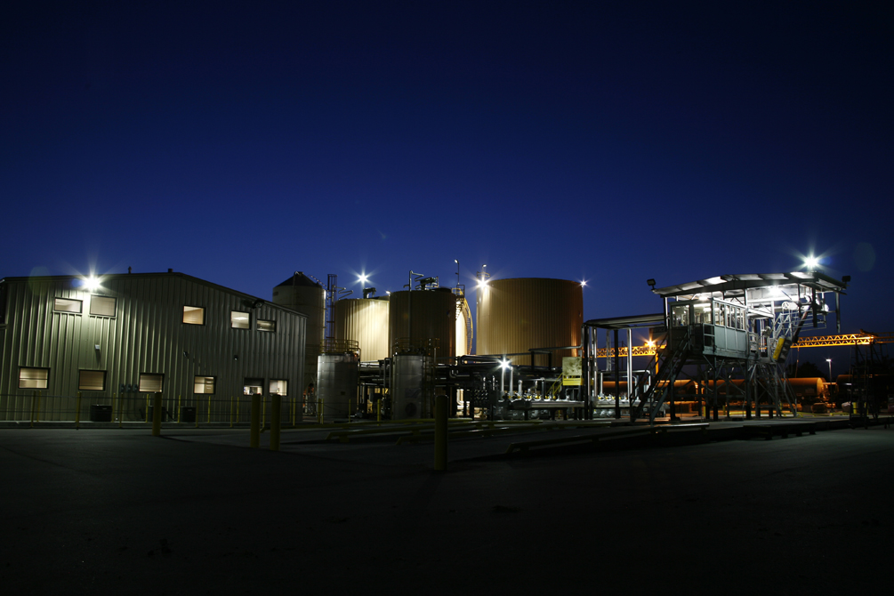 Nighttime photo of Ergon Asphalt & Emulsions Inc. - 7 employees