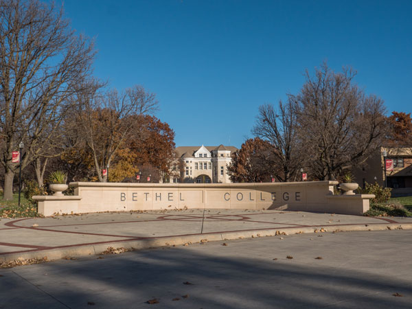 Bethel College is located North Newton with an enrollment of approximately 540 students